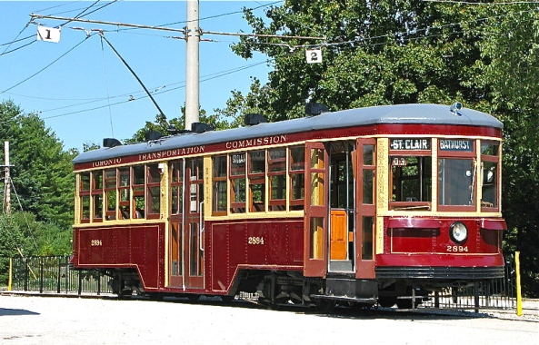 Streetcar built by the Ottawa Car Company for the Toronto system