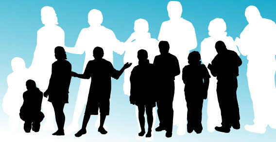 085_people_silhouettes-free-vector