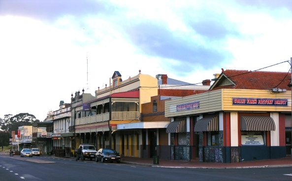 Collie, WA - Main Street