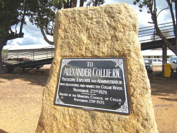 Dr Alexander Collie Memorial