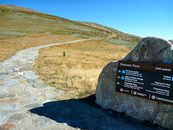 Mount Kosciusko Walking Path