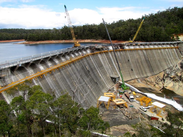 Wellington Dam Upgrade 2010