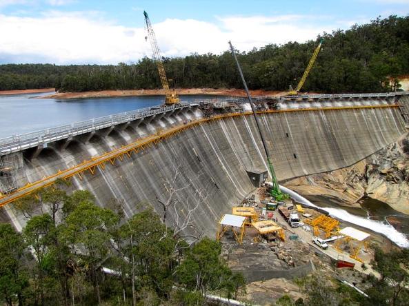 Wellington Dam Upgrade 2010