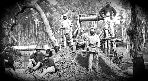 NSW Gov. Gulgong mine 1875