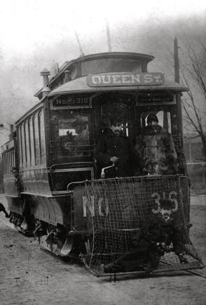 Queen Street Streetcar no 316 (1893)Toronto_Railway_Company_car_No._316