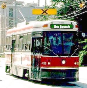 The Beach Streetcar now