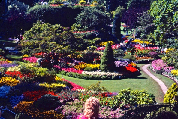 Butchart Gardens Brentwood Bay, near Victoria British Columbia