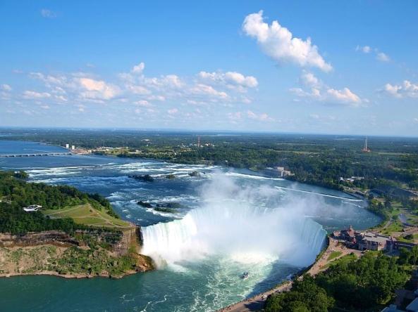 Canadian Horseshoe Falls, Niagara Falls Ontario