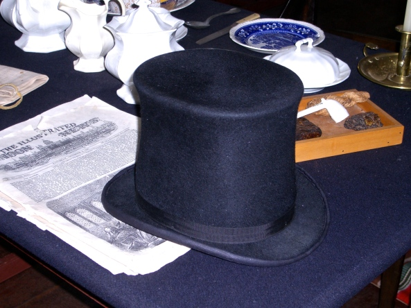"""Gentleman's"" Beaver Felt Hat, Fort Langley National Historic Site, British Columbia (TheMightyQuill-Wikimedia)"