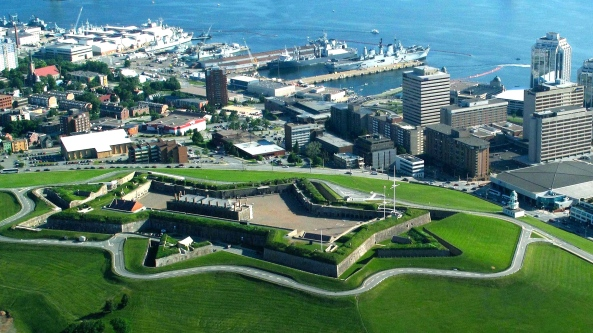 Halifax Nova Scotia, Citadel Hill,Fort George