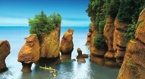 Hopewell Rocks, Bay of Fundy, New Brunswick