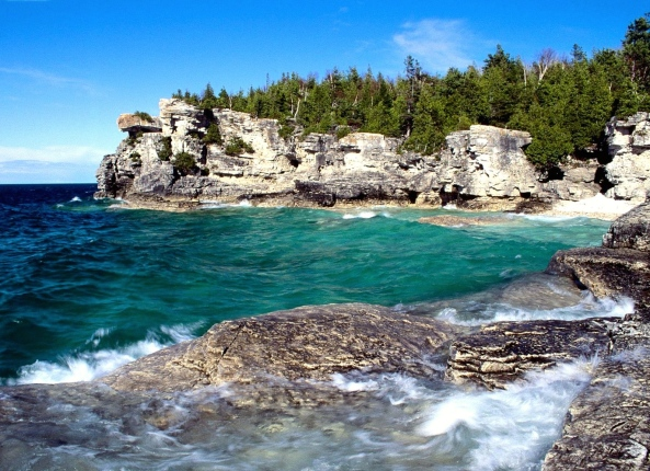 Indian Head Cove Bruce Peninsula National Park Ontario