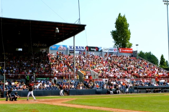 Nat Bailey Stadium, Vancouver British Columbia