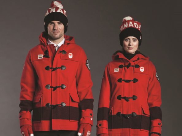 Canadian Winter Clothing (Olympics)