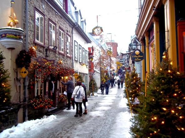 Rue du Petit Champlain, Quebec City (Ville de Québec) Quebec