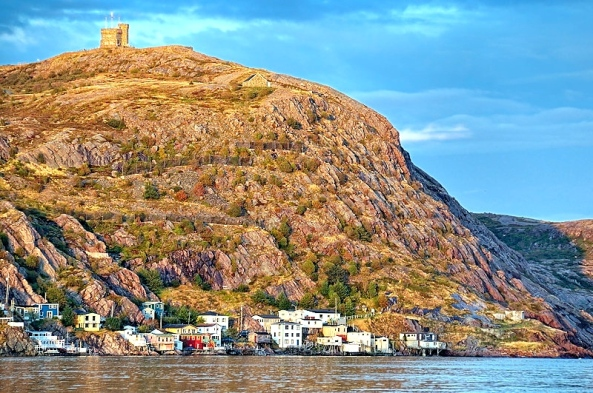 Signal Hill and The Battery, St. Johns, Newfoundland