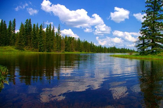 Whirlpool Lake, Riding Mountain National Park, Manitoba