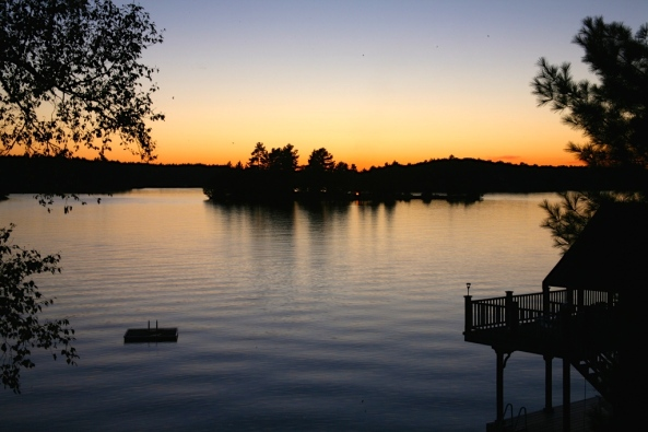 Muskoka Sunset, Flickr - Ed Nutt