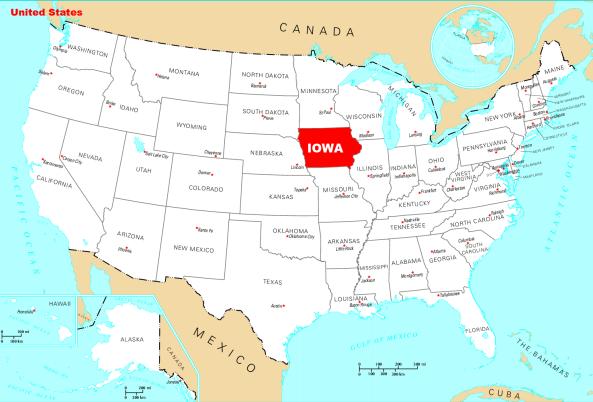 Where is Iowa | Metro Map | Bus Routes | Metrobus Way Map | Train ...