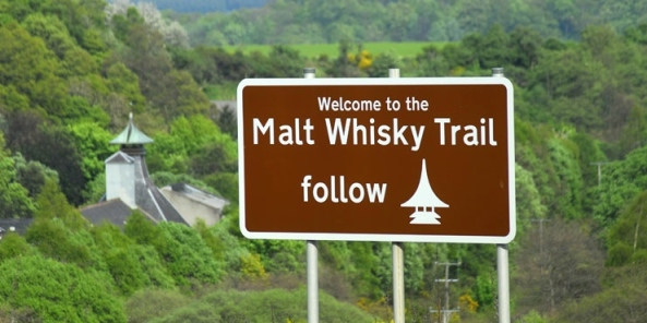 Speyside malt-whisky-trail-sign
