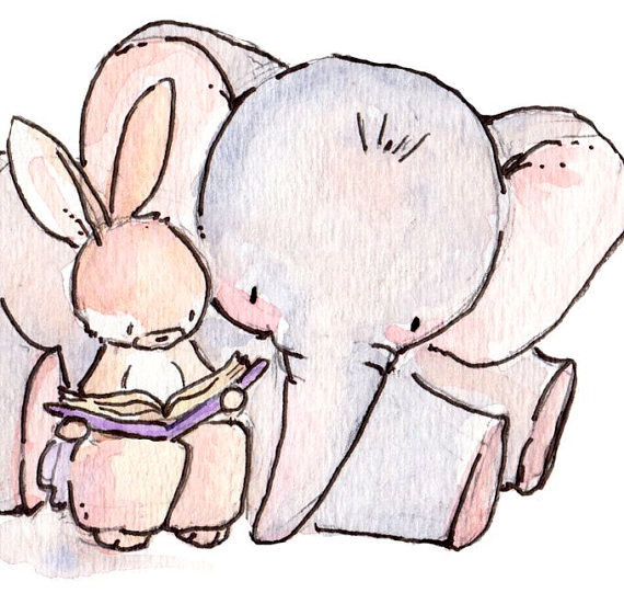 Bunny and Elephant