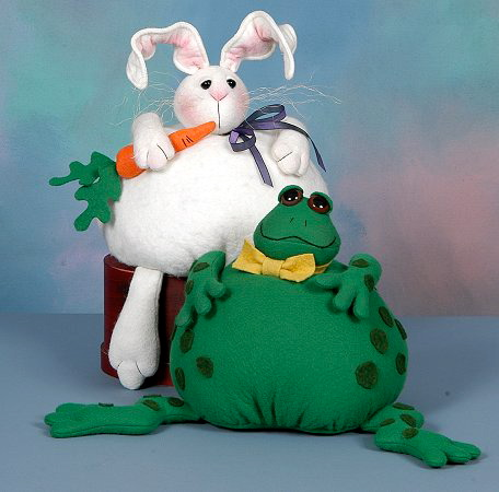 Bunny and Frog (Cottonginny)