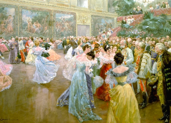 Court Ball at the Hofburg  1900 (Wilhelm Gause)