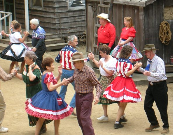 Square Dancing Marin County Mtn. Play (Oklahoma)