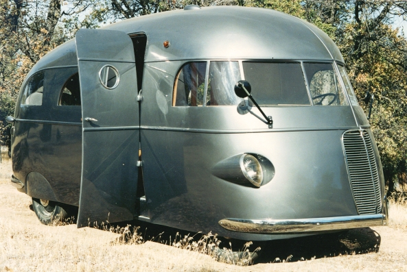 1937 Hunt Housecar from the RV Hall of Fame, Elkhart, Indiana