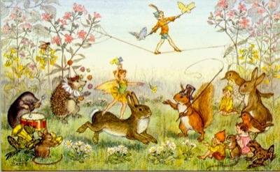 Molly Brett faeries and animals