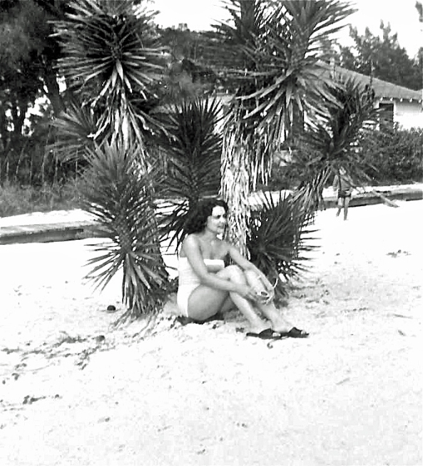 Joyce-at-the-Beach,-Florida