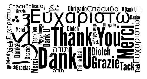 Thank You! is Important in Any Language